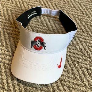 Nike Ohio state visor